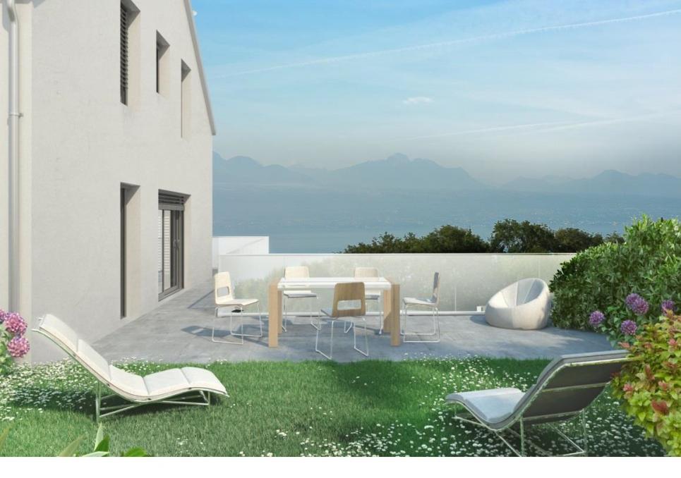 <p>Belmont-sur-Lausanne - A 10 minutes de Lausanne. Vue lac et Montagnes. Environnement résidentiel</p>