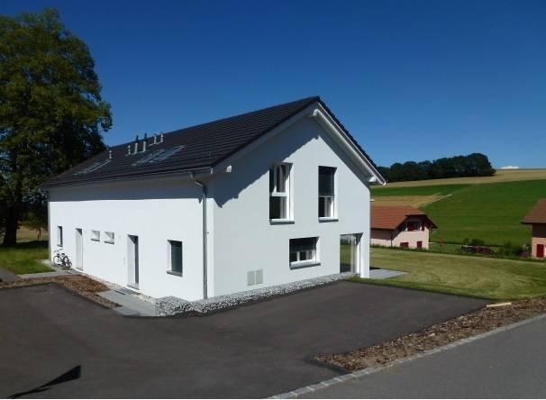 <p>Prévonloup - Attrayantes villas jumelles de qualité avec vue. Budget abordable.</p>