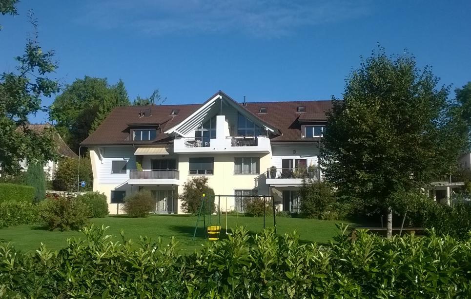<p>Corminboeuf - 9 minutes de Fribourg-centre, attrayant logement avec jardin privatif.</p>