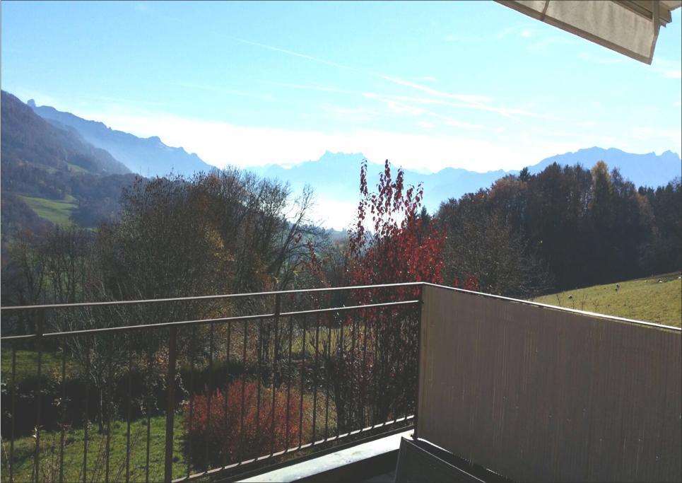 <p>Les Monts-de-Corsier - Magnifique cadre de verdure avec vue dégagée</p>